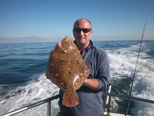 Magnificent Brill of 5lbs 2oz 2014